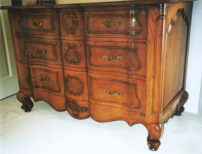 Cherry French Chest