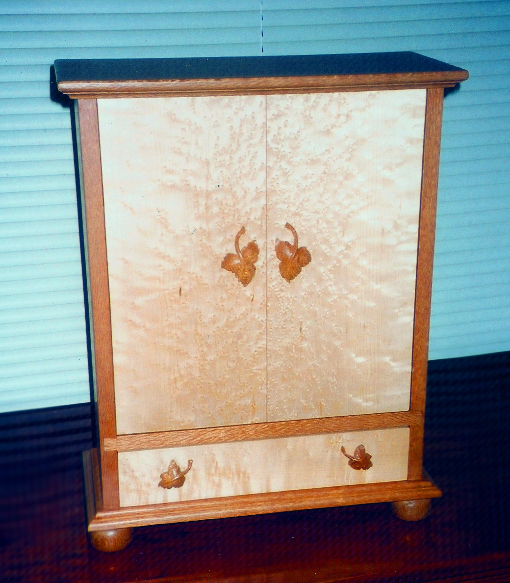 Curly Maple Jewelry Box