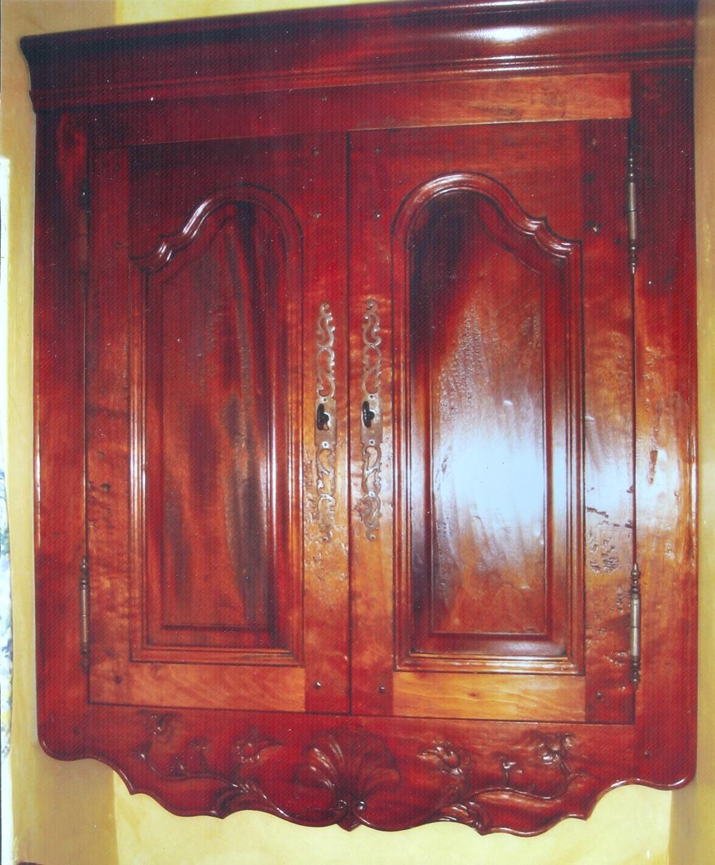 Mahogany Cabinet small
