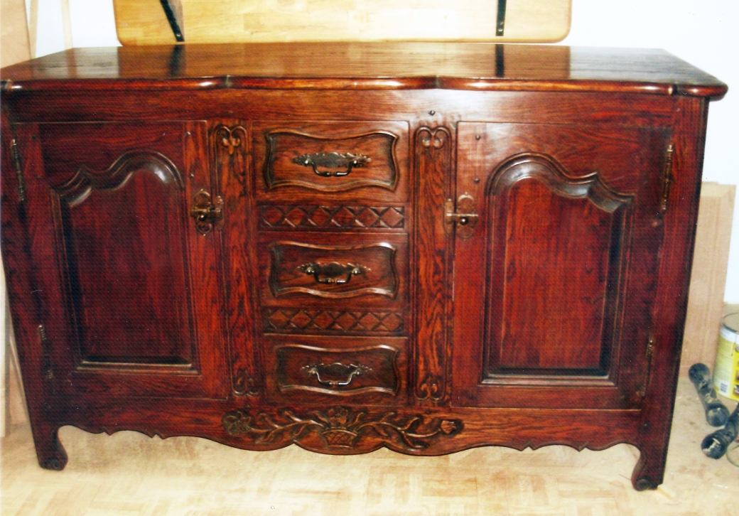 Oak French Provincial Chest