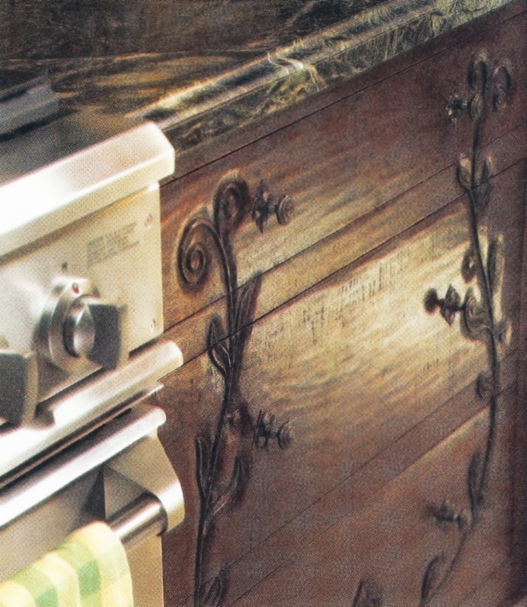 Tuscany Style Mag - Tim Wilson WalnutKitchen detail - small