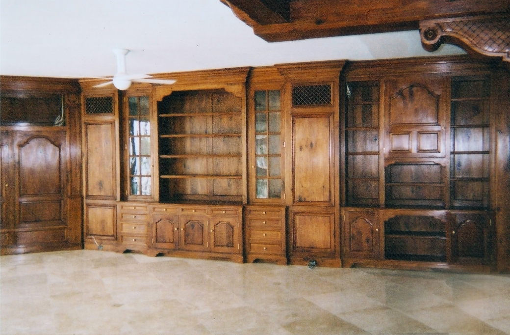 Butternut Wall Unit